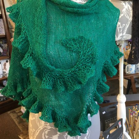 IMG 0586 450x450 - The Lace Knittery Twirly Shawl PDF Knitting Pattern
