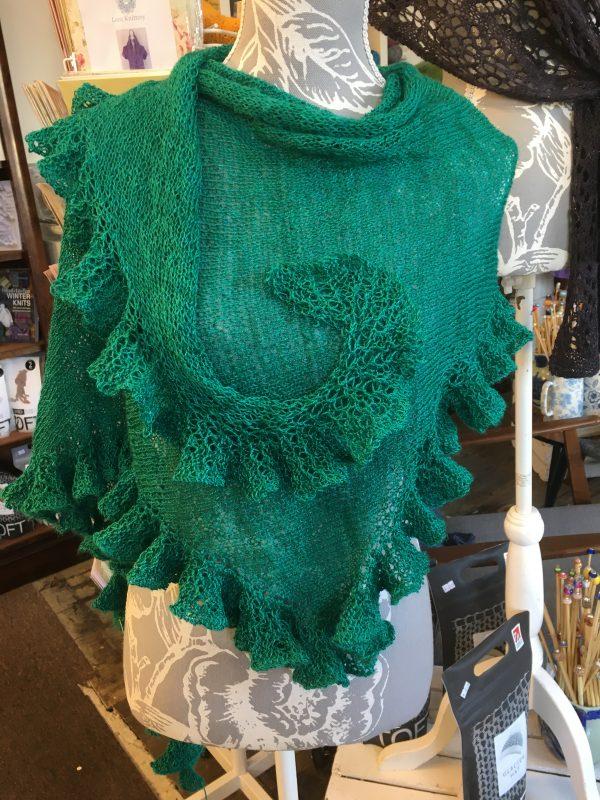 IMG 0586 600x800 - The Lace Knittery Twirly Shawl PDF Knitting Pattern