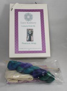 49DF7AFF CE9F 4057 AF55 98D1FC6C9B86 221x300 - The Lace Knitting Peacock Feathers Knitting Kit
