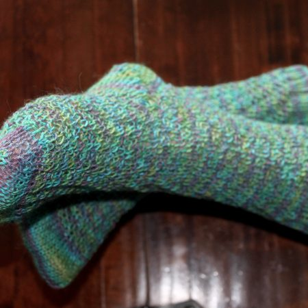IMG 2465 450x450 - The Lace Knittery Twist It Socks PDF Knitting Pattern