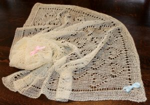 IMG 3321 300x211 - The Lace Knittery Great British Baby Blanket PDF knitting pattern
