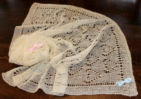 IMG 3321 600x423 - The Lace Knittery Great British Baby Blanket PDF knitting pattern