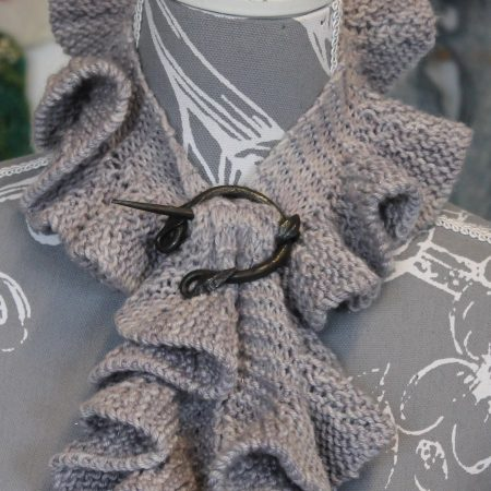 IMG 3467 450x450 - The Lace Knittery Twirly Scarf PDF Knitting Pattern