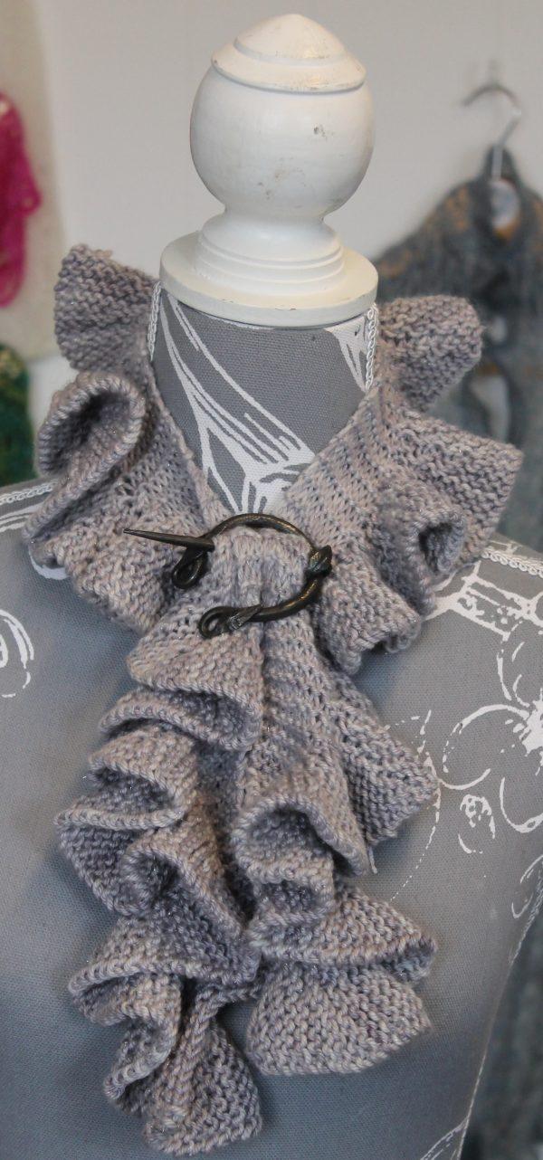 IMG 3467 600x1282 - The Lace Knittery Twirly Scarf PDF Knitting Pattern