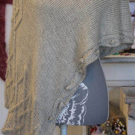 IMG 3479 450x450 - The Lace Knittery Penryn Poncho PDF knitting pattern