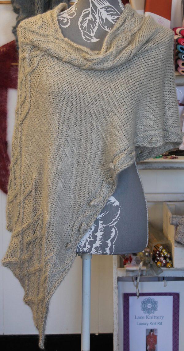 IMG 3479 600x1141 - The Lace Knittery Penryn Poncho PDF knitting pattern