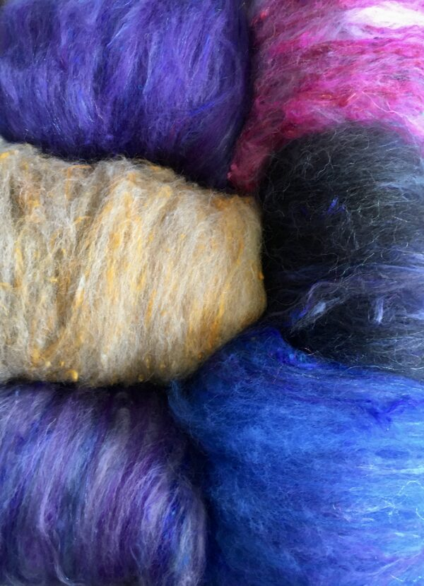 6E31B721 DE65 4DB9 83B5 5C10CBC8C7D0 600x830 - Hand blended natural fibre batts.