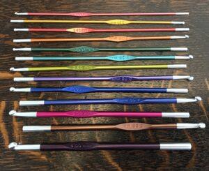 8506C950 13F2 473A B987 327CD7184E91 300x245 - Knit Pro Zing Single End Crochet Hooks